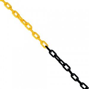cadena plastica de señalizacion